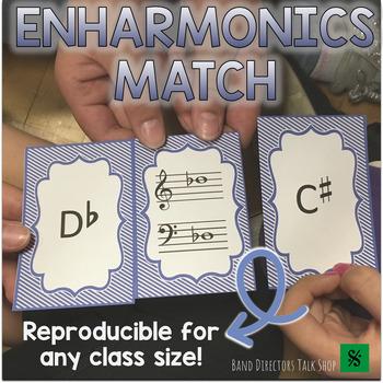 "Music Game ""Enharmonics Match"" 3 sets!"