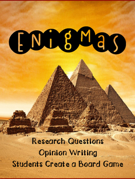Enigmas Research and Writing Questions