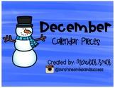 Enjoy Every Moment: December Calendar Pieces {Black on White}