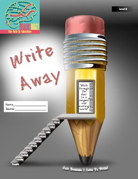 Enjoyable Writing Practice through WRITE AWAY! 84 Text & Picture Prompts Level B