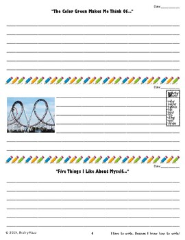 Enjoyable Writing Practice through WRITE AWAY! 84 Text & Picture Prompts Level C
