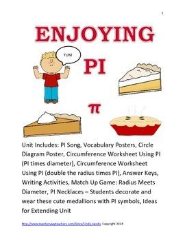 Enjoying PI, PI Day, PI, Geometry, Circumference