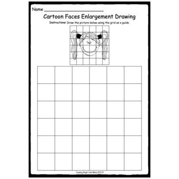 Enlargement- Drawing Faces
