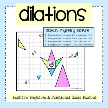 Dilation Mystery Picture Ac... by Nicola Waddilove | Teachers Pay ...