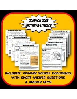 DBQ Enlightenment Common Core Document Based Question Activity