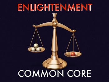 Enlightenment Common Core Documents with KEY