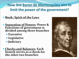 Enlightenment Era Day 2 (Montesquieu, Rousseau, Smith)