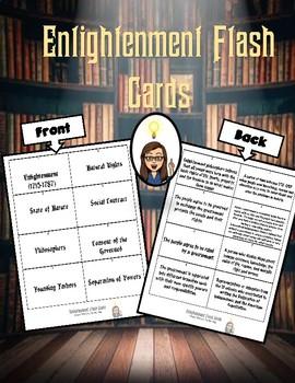 Enlightenment Flash Cards