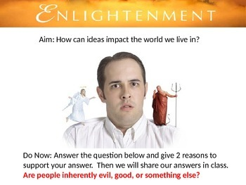 Enlightenment Group Activity Lesson: The impact of ideas on your world