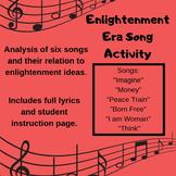 Enlightenment Ideas Songs Assignment
