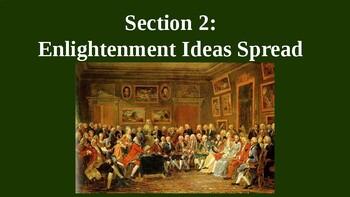 Enlightenment Ideas Spread PowerPoint