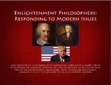 Enlightenment Philosophers:  Responding to Modern Issues Activity