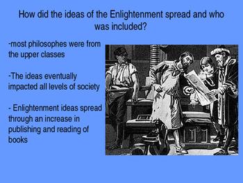 Enlightenment Powerpoint- Basic