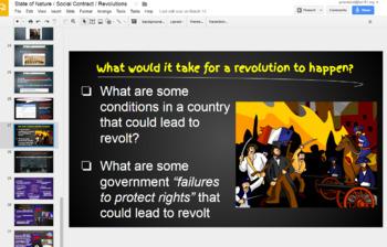 Enlightenment Prezi + Google Slides Presentation