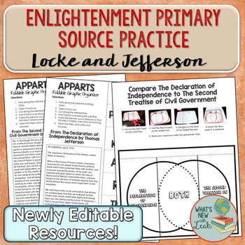 Enlightenment Primary Source Analysis