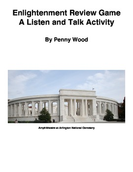 Enlightenment Review Game, A Listen and Talk Activity