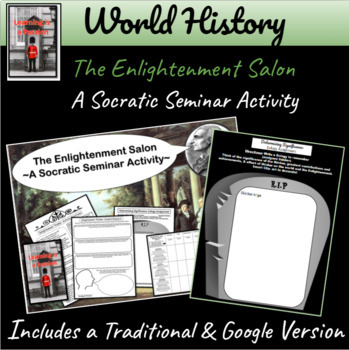 Enlightenment Salon: A Socratic Seminar Activity