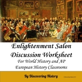 Enlightenment Salon Discussion Worksheet