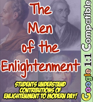 The Enlightenment Men: Learn Contributions of Locke, Hobbes, Rousseau, & More!