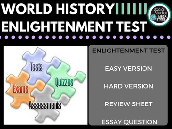 Enlightenment Test and Quizzes