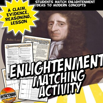 Enlightenment Thinkers Common Core Assessment