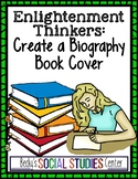 Enlightenment Thinkers - Create a Biography Book Cover