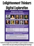 Enlightenment Thinkers Digital Exploration