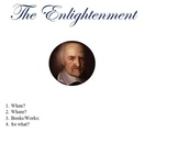 Enlightenment Thinkers Look Book Project