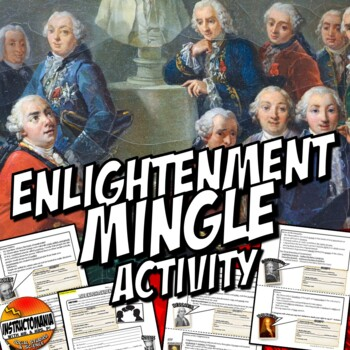 Enlightenment Thinkers Mingle Activity