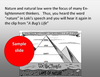 Enlightenment Thinkers: The Avengers & Thomas Hobbes, A Bug's Life & John Locke