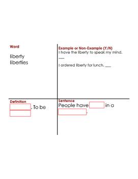 Enlightenment Vocabulary Builder