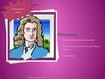 Enlightenment and American Revolution Study Game-Who Am I?