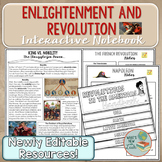 Enlightenment and Revolution Interactive Notebook Complete