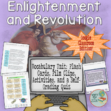 Enlightenment and Revolution Vocabulary Unit for Google and One Drive