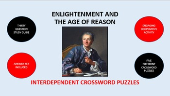Enlightenment and the Age of Reason: Interdependent Crossword Puzzles Activity