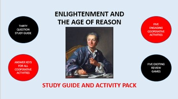 Enlightenment and the Age of Reason: Study Guide and Activity Pack