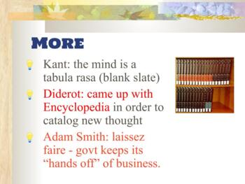 Enlightenment powerpoint