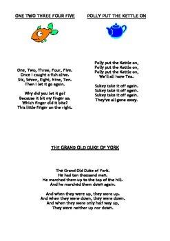 English Nursery Rhymes