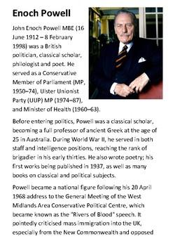 Enoch Powell Handout
