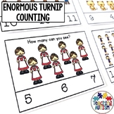Enormous Turnip Counting Task Cards