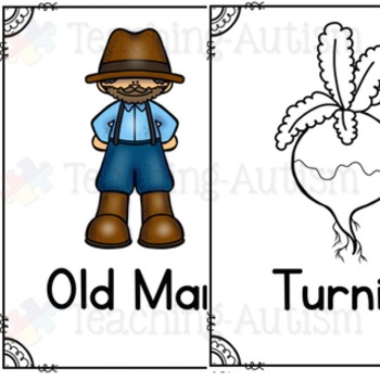 Enormous Turnip Flashcard Story Pack