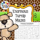 Enormous Turnip Mazes, Fine Motor Activity