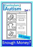 Enough Money Budgeting DOLLARS Autism Life Skills