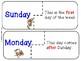 Enough Monkey Business!  Let's Master Calendar Skills!