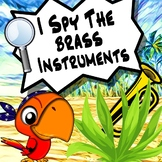I Spy The Musical Instruments - The Brass Family