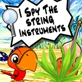 I Spy The Musical Instruments - The String Family