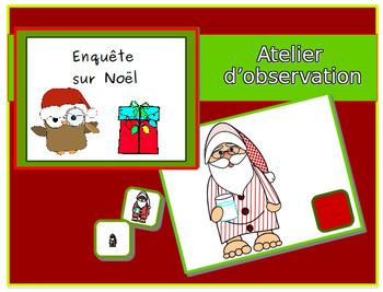 Enquête sur Noël: ateleir d'observation