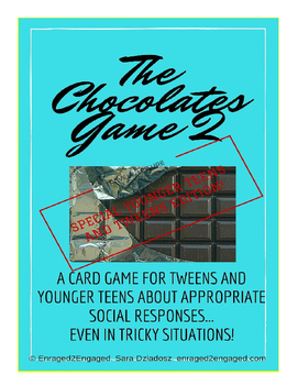 Enraged to Engaged: Box of Chocolates 2 (Younger Teen and Tween Edition)