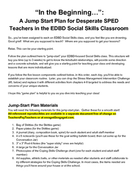 Enraged to Engaged: Jump-Start Plan for High School EDBD Social Skills