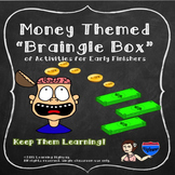 Early Finisher Activities – Money Themed